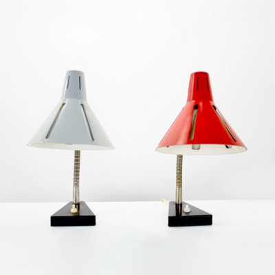 Zonneserie Desk Lamp by H. Busquet for Hala Zeist