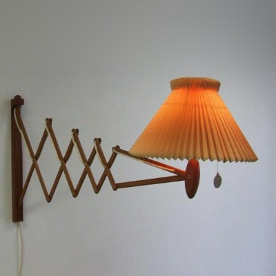 Model 332 wall lamp by Erik Hansen for Le Klint, 1950s