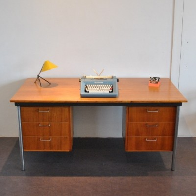 ET 62 writing desk by Cees Braakman for Pastoe, 1950s