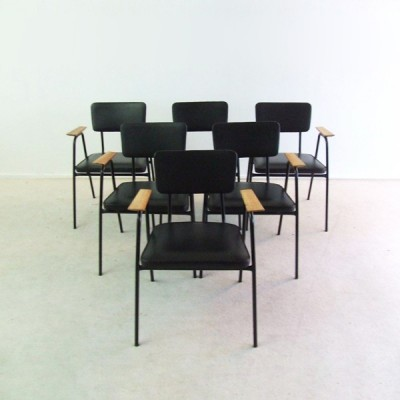 Dinner Chair by Willy van der Meeren for Tubax