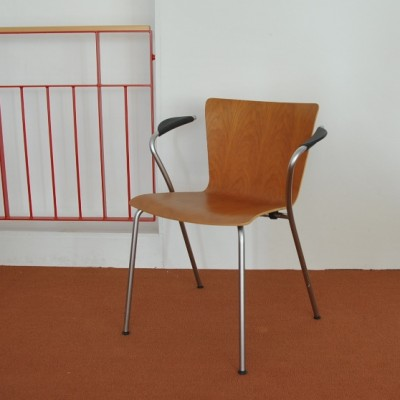 Vico Duo dining chair by Vico Magistretti for Fritz Hansen, 1990s