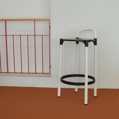 6 Polo stools from the seventies by Anna Castelli Ferrieri for Kartell