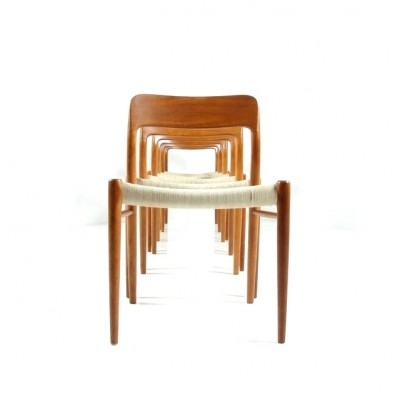 75 Dinner Chair by Niels Otto Møller for J L Møller