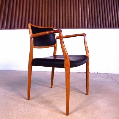 No. 65 Dinner Chair by Niels Otto Møller for J L Møller