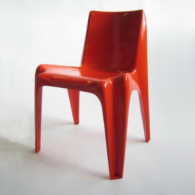 BA 1171 dining chair by Helmut Bätzner for Bofinger, 1960s