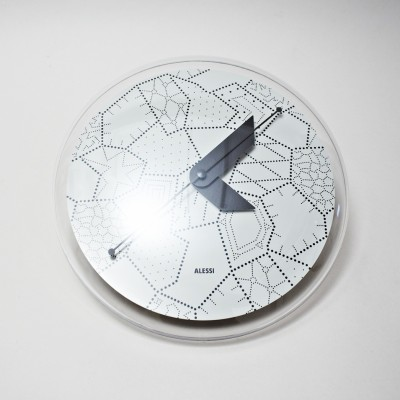 Sole clock from the nineties by Alessandro Mendini for Alessi
