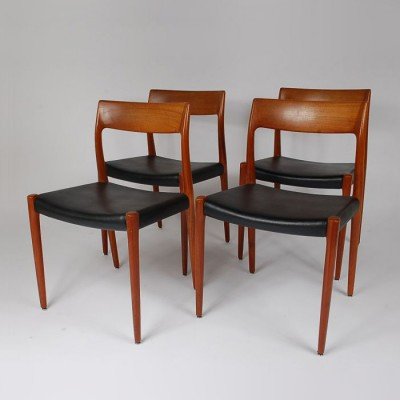 Dinner Chair by Niels Otto Møller for J L Møller
