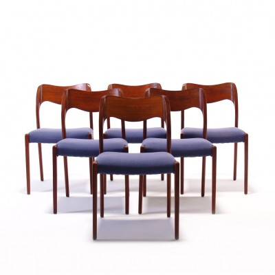 Model 71 Dinner Chair by Niels Otto Møller for J L Møller