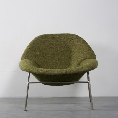 555 Lounge Chair by Pierre Paulin for Artifort