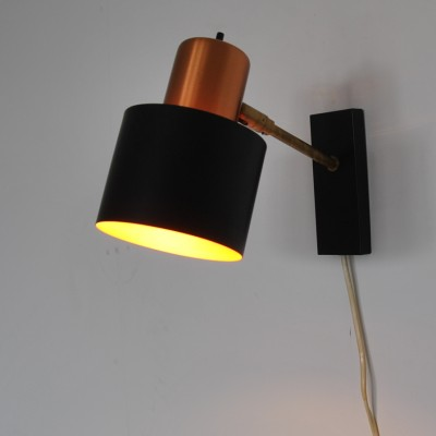 Alfa Wall Lamp by Jo Hammerborg for Fog and Mørup