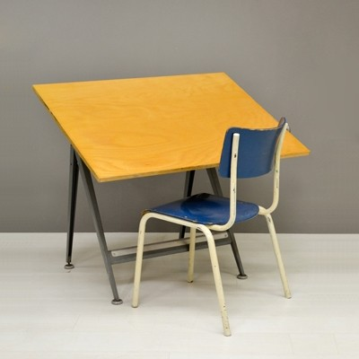 Drawing Table by Friso Kramer for Ahrend de Cirkel