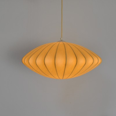 Saucer hanging lamp by George Nelson for Howard Miller, 1960s