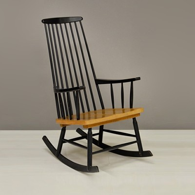 Rocking Chair by Unknown Designer for Unknown Manufacturer