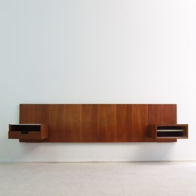 Japanese series Bed panel Wall Unit by Cees Braakman for Pastoe