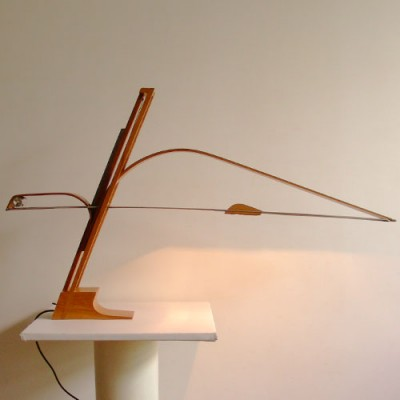 Desk lamp from the eighties by B. Brousse for unknown producer