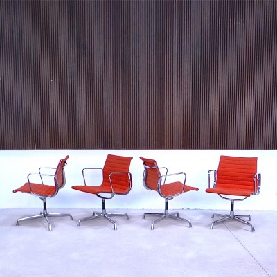 Aluminium Group EA 108 Office Chair by Charles and Ray Eames for Herman Miller