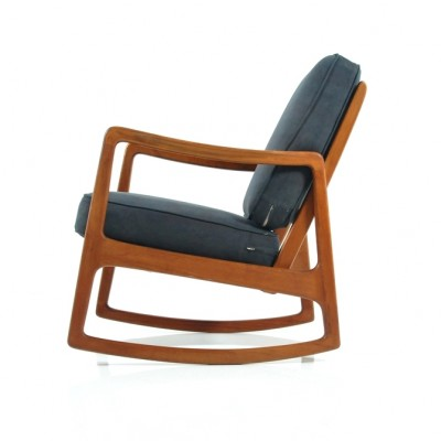 Rocking Chair by Ole Wanscher for France and Daverkosen