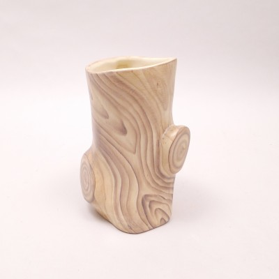 Tree Trunk Vase by Grandjean Jourdan for Grandjean Jourdan