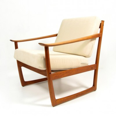 Sleigh Lounge Chair by Peter Hvidt and Orla Mølgaard Nielsen for France and Son