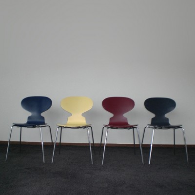 3101 Ant Dinner Chair by Arne Jacobsen for Fritz Hansen