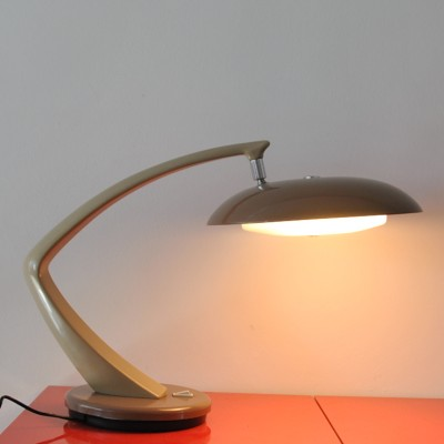 Boomerang 64 desk lamp by Fase, 1960s