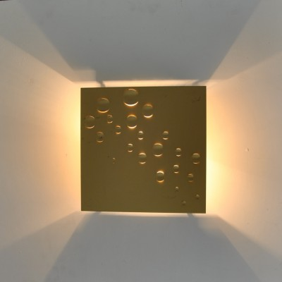 Sterrenregen / Rain of stars wall lamp by Evert Jelle Jelles for Raak Amsterdam, 1960s