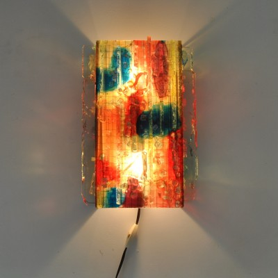 Chartres wall lamp by A. Lankhorst for Raak Amsterdam, 1960s