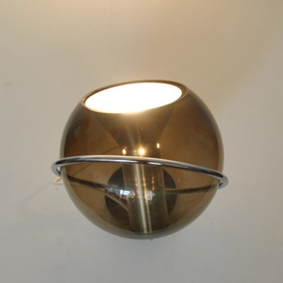Globe C-1512.20 wall lamp by Frank Ligtelijn for Raak Amsterdam, 1970s