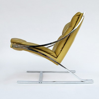 2 Zeta lounge chairs from the seventies by Paul Tuttle for Strässle