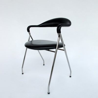10 x Saffa dinner chair by Hans Eichenberger for Dietiker Swiss, 1960s