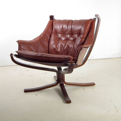 Lounge chair by Sigurd Ressell for Vatne Møbler, 1970s