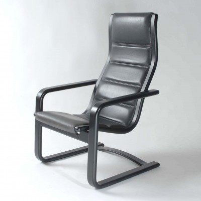 Lamello lounge chair from the sixties by Yngve Ekström for Swedese