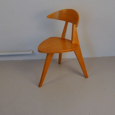 360/3 Children's chair by Walter Papst for Wilkhahn, 1950s