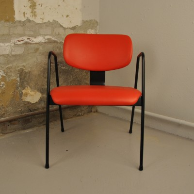F1 lounge chair by Willy van der Meeren for Tubax, 1950s