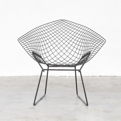 Diamond Dinner Chair by Harry Bertoia for Knoll International