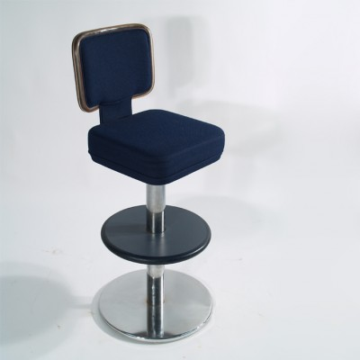 Gasser chairs & co stool, 1980s