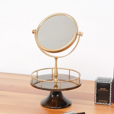Vanity Mirror by Aldo Tura for Tura