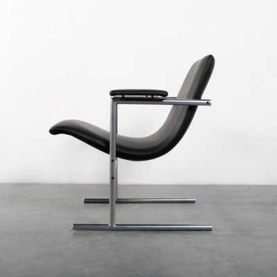 Oslo lounge chair by Rudi Verelst for Novalux Belgium, 1970s