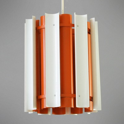 Mexico Orange hanging lamp by Yki Nummi for Stockmann Orno, 1960s