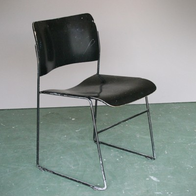 Set of 6 GF 40/4 dining chairs by David Rowland for Howe, 1960s