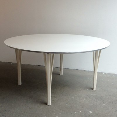 Dining table by Piet Hein for Fritz Hansen, 1970s