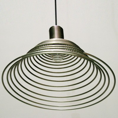 Spirali hanging lamp by Angelo Mangiarotti for Candle, 1970s