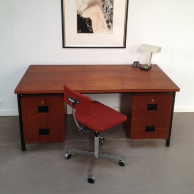 Japanese serie writing desk from the fifties by Cees Braakman for Pastoe