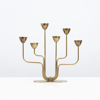 Candlestick by Gunnar Ander for Ystad Metall
