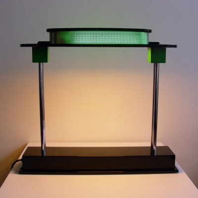 Pausania desk lamp from the eighties by Ettore Sottsass for Artemide