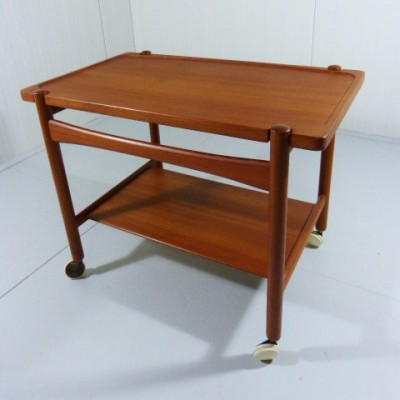 Serving trolley by Hans Wegner for Andreas Tuck, 1950s
