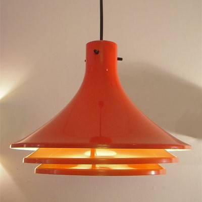 4 x hanging lamp by Hans Agne Jakobsson for Svera, 1970s