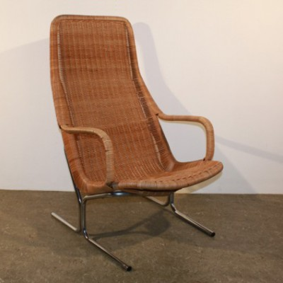 514 C lounge chair from the fifties by Dirk van Sliedregt for Gebroeders Jonkers