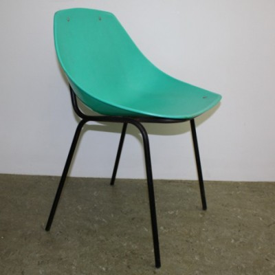Set of 4 dinner chairs from the fifties by unknown designer for Meurop