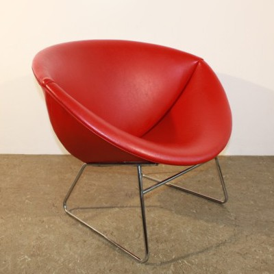 3 lounge chairs from the sixties by unknown designer for Rohé Noordwolde